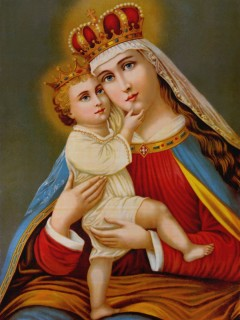 8-22, The Queenship of Mary
