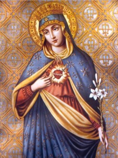 6-18, The Immaculate Heart of Mary