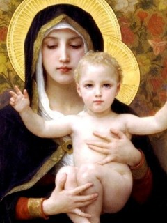 7-9, Our Lady and the Child Jesus