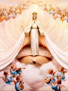 7-29, Mary Queen of Heaven and Earth