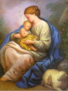 8-27, Our Lady and Baby Jesus