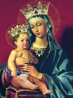 2-9, Our Lady and the Baby Jesus