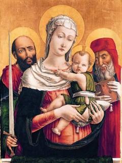 3-22, La Virgen Maria